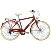 Bici clásica Adriatica Sity Retro Rojo Man